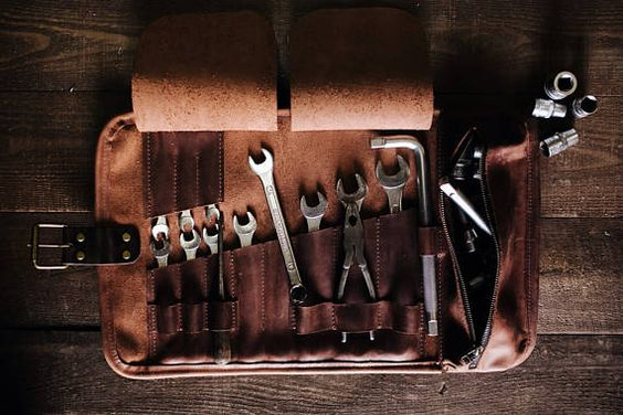 leather tool carrier
