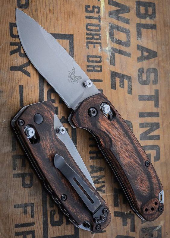 custom wood handle pocket knife