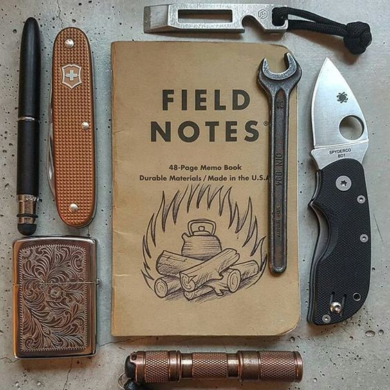 edc field notes
