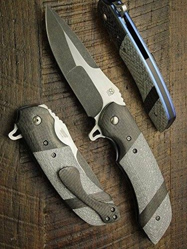 three custom knives