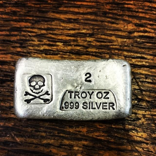 troy oz of silver