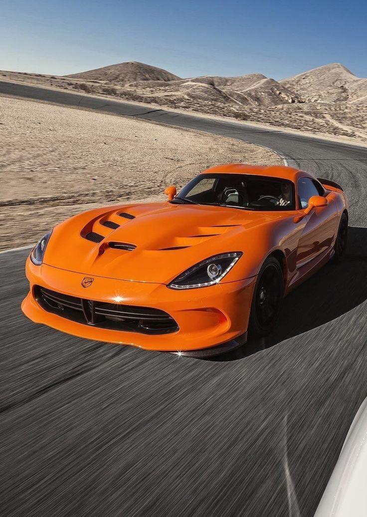 orange viper on track