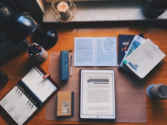 organized manly desk