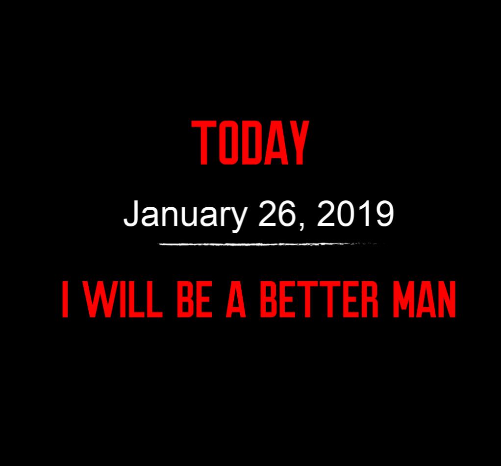 better man 1-26-19
