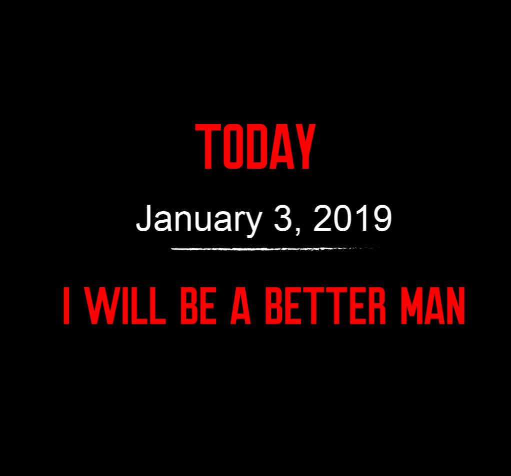 better man 1-3-19