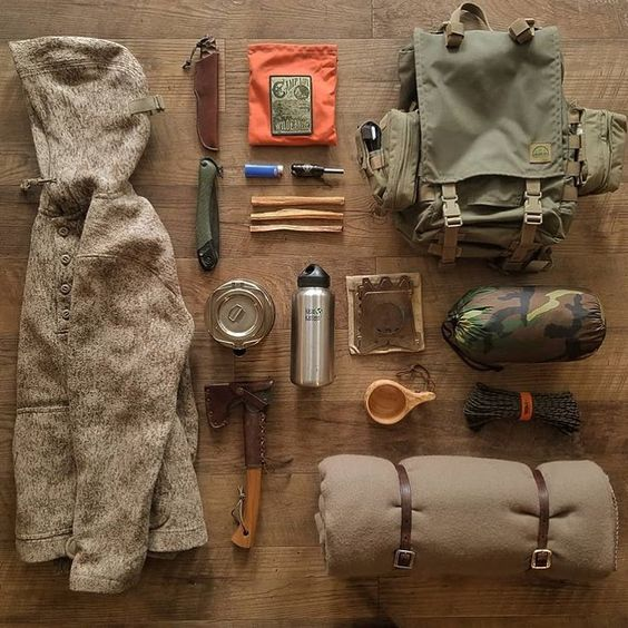 backpacking supplies