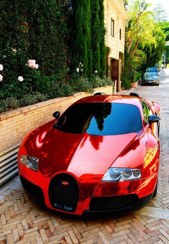 red buggati
