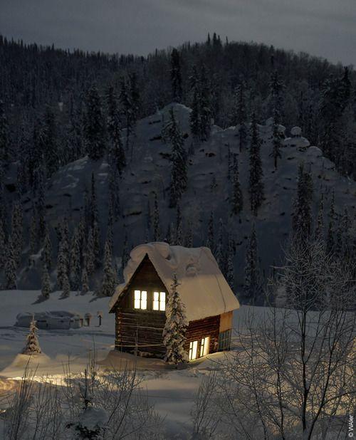 comfy winter scene