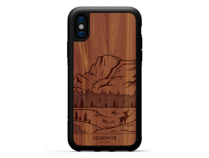 yosemite carved smartphone case