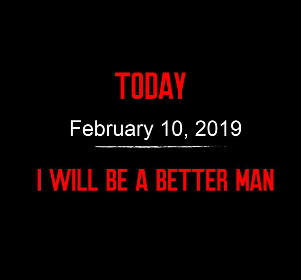 better man 2-10-19