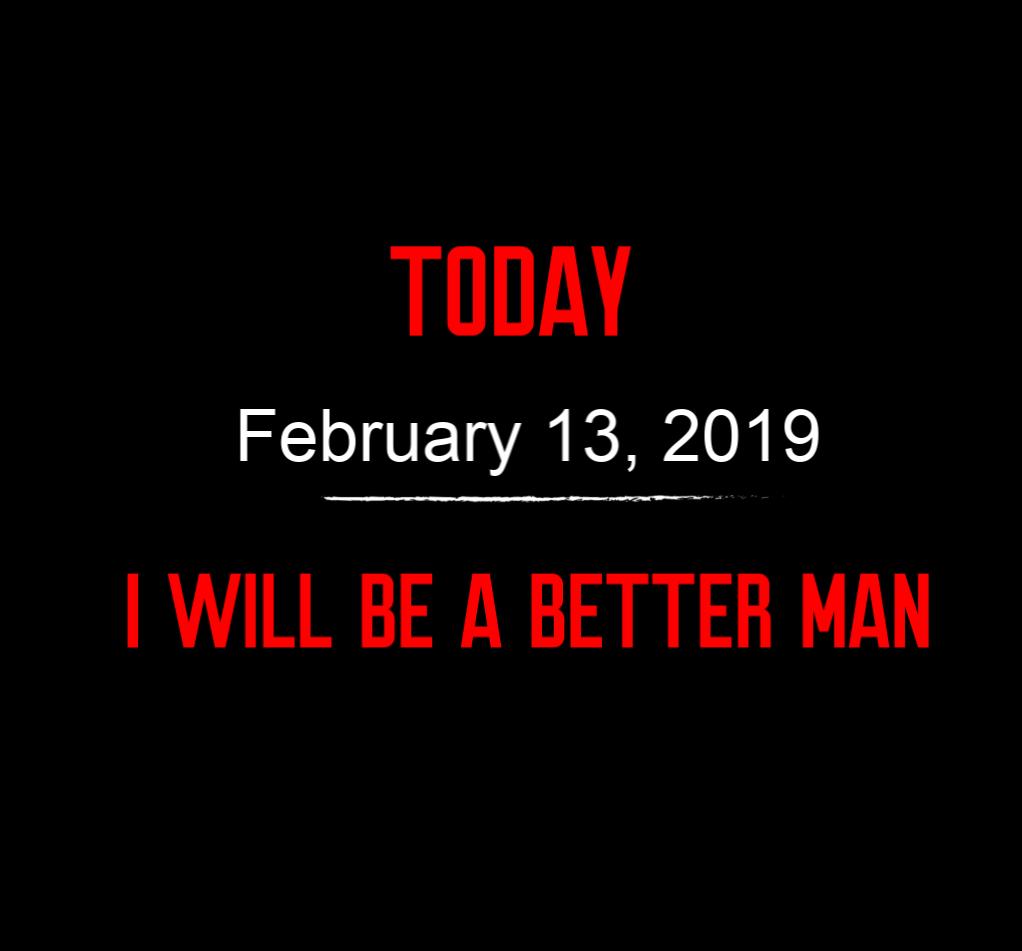 better man 2-13-19