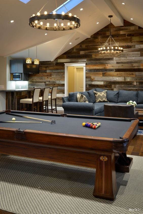 manly game room