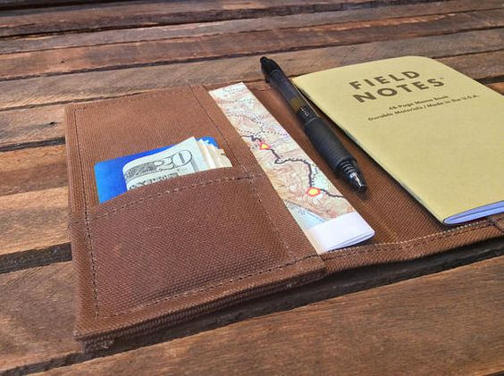 field notes wallet