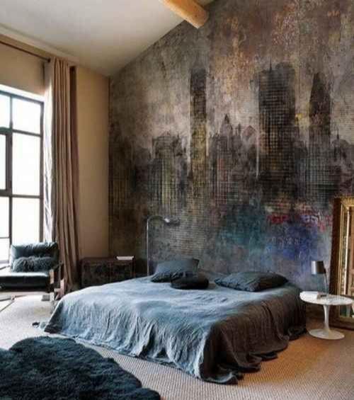 Manly Bedroom Design