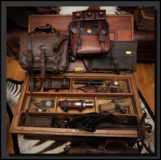 masculine travel gear