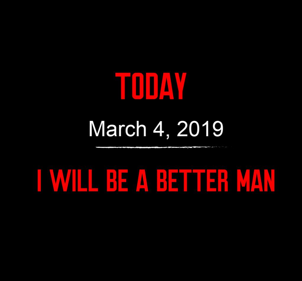 better man 3-4-19