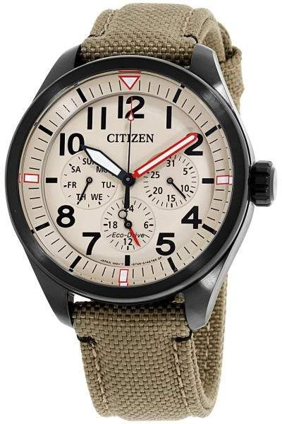 Citizen Chandler BU2055-08X Black Ion-Plated Stainless Steel
