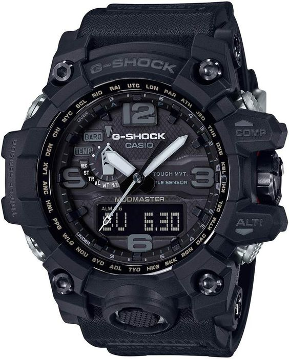 G-Shock BABY G Mudmaster Resin Casio Ana Digi Watch - 56mm