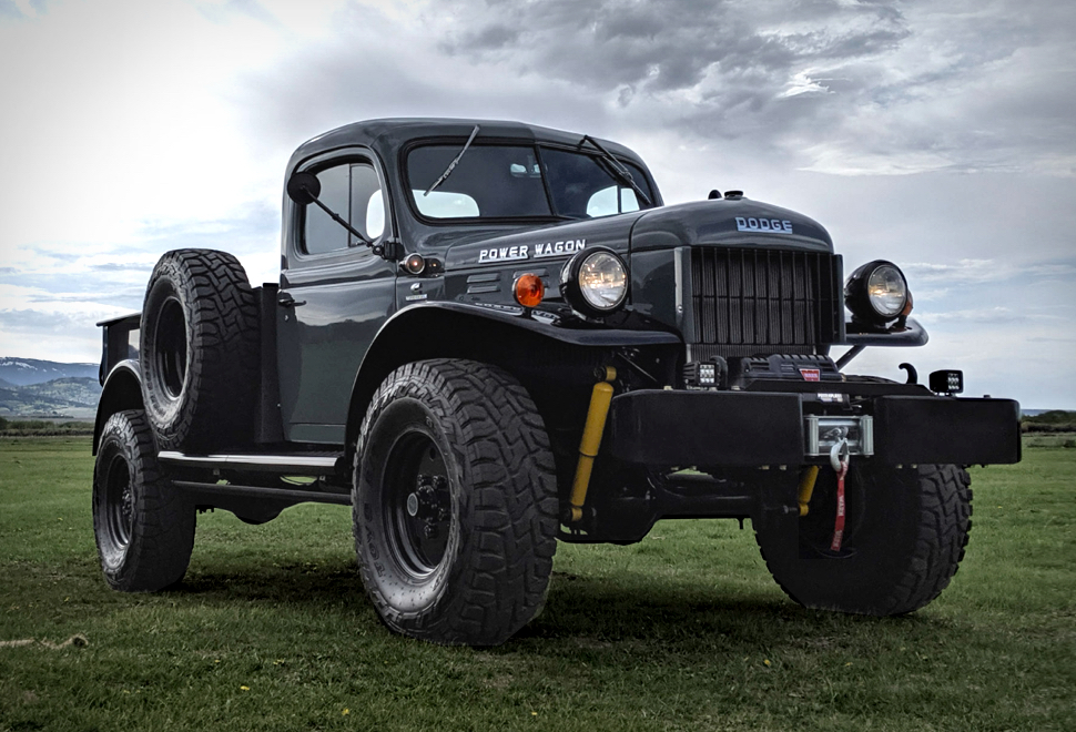 1952 legacy power wagon