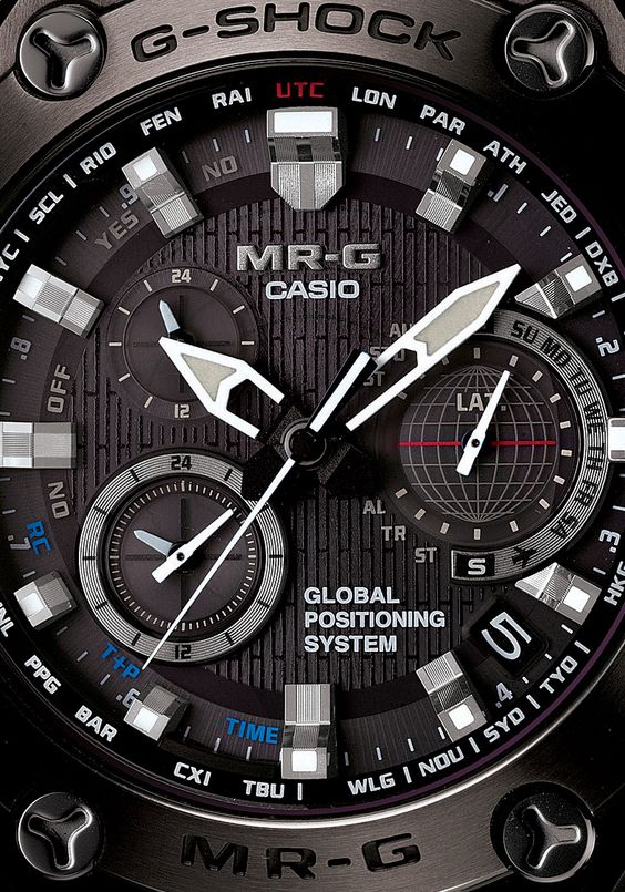 G-Shock MR-G GPS Atomic Solar Hybrid Ultra Limited Edition
