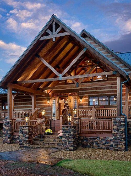 the modern masculine cabin design