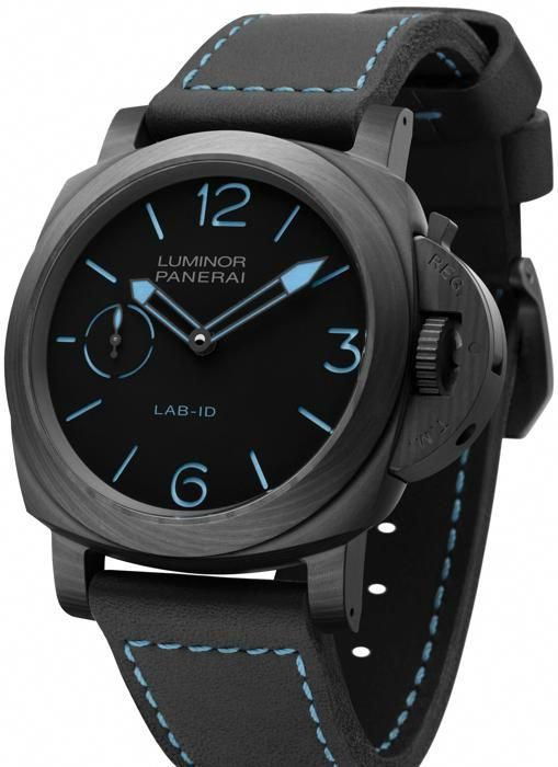 LUMINOR LAB-ID CARBOTECH - 49MM - MEN'S WATCH