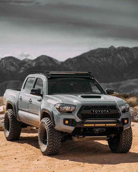 rugged toyota pickup