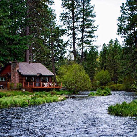 summer home near river