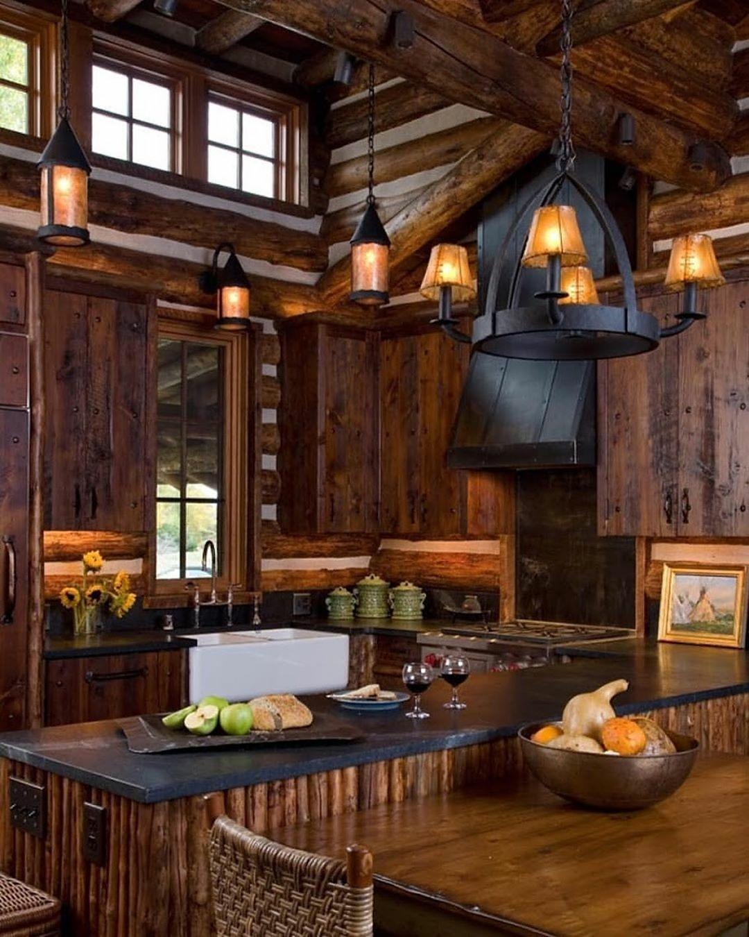 A masculine kitchen design