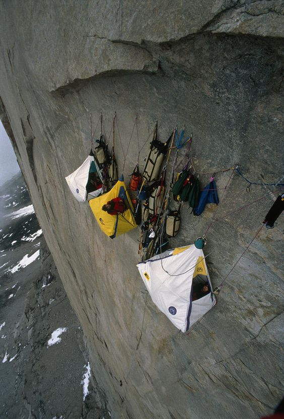 Wall Camp At An Elevation Of 4000 Feet