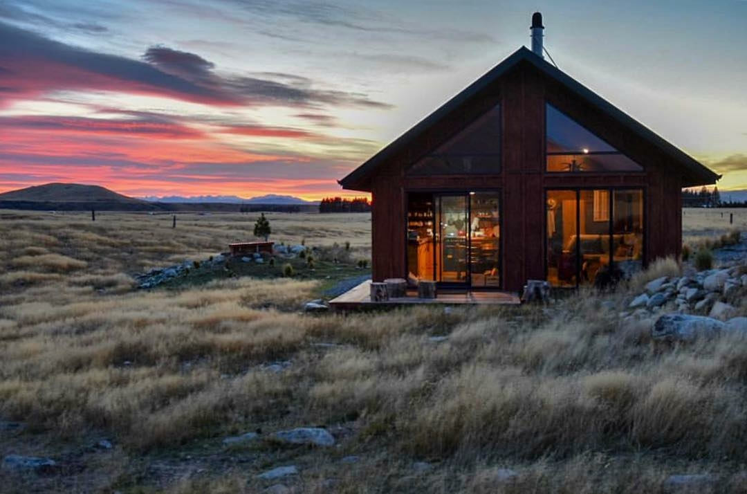 big sky country cabin