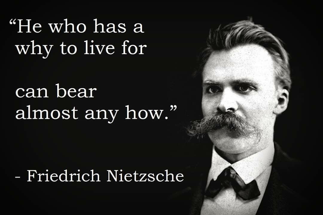 he who has a why yo live
