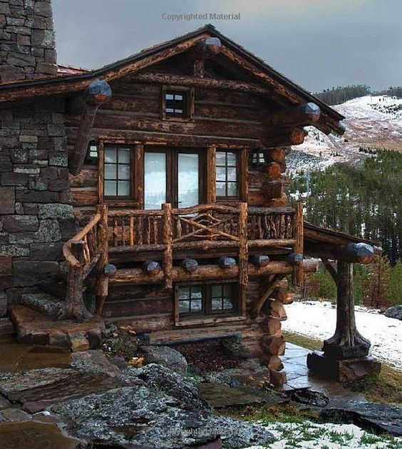 high country rustic cabin