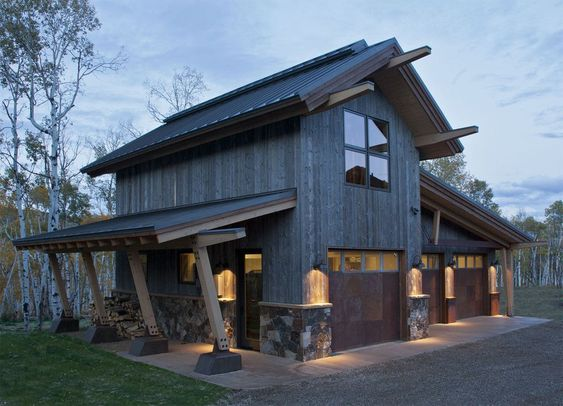 modern barn design home