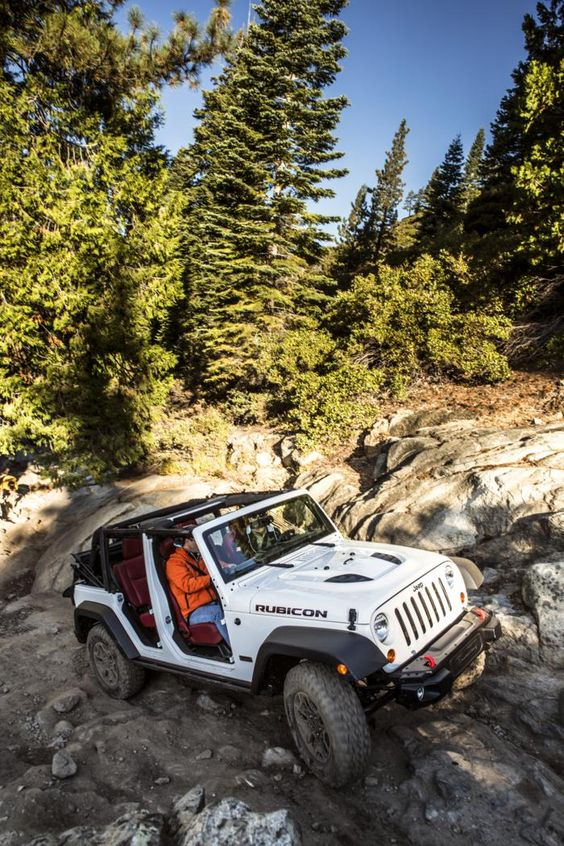 rubicon jeep in the wilderness