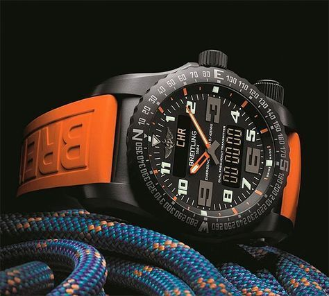 Breitling Emergency Night Mission Mens Watch