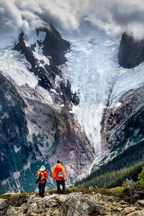 Bugaboo Glacier in the Purcell Mountains of British Columbia - Canada