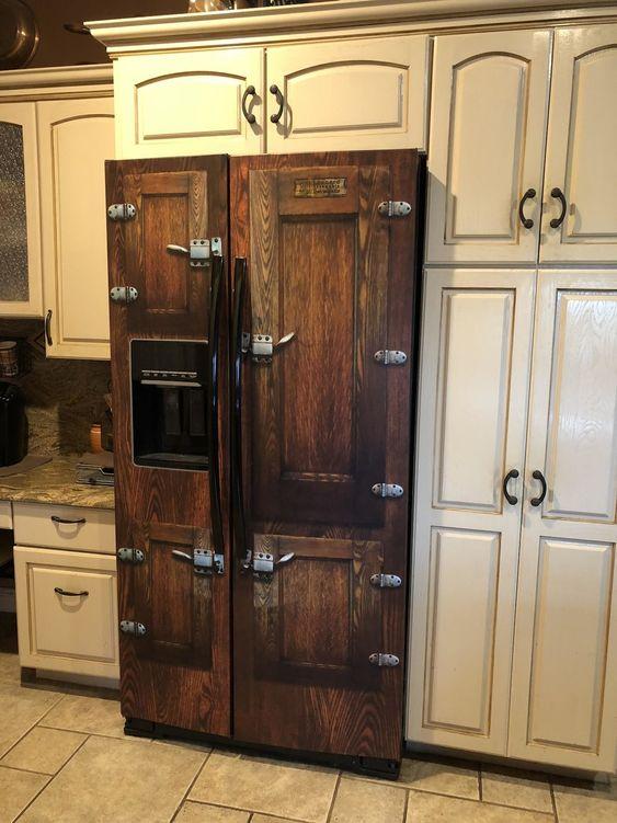 Icebox Side by Side Refrigerator Wrap