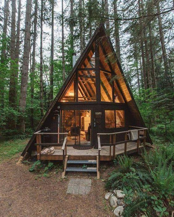 a-frame cabin home