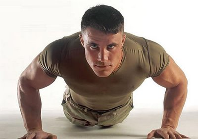 mental toughness - man doing push ups