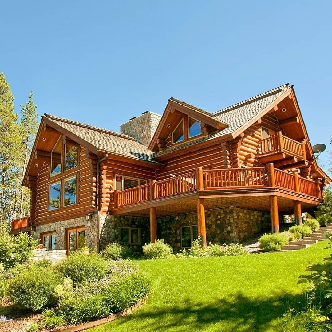 log cabin goals