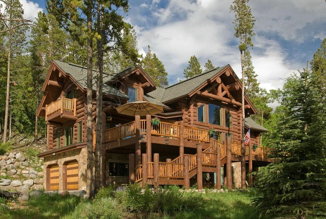 A Beautiful Timber Frame Home