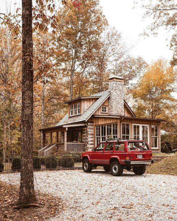 traditional country home