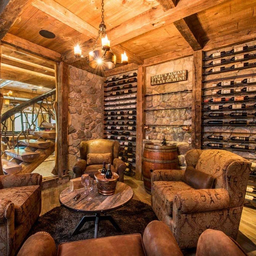 South Carolina Log Home interior _5