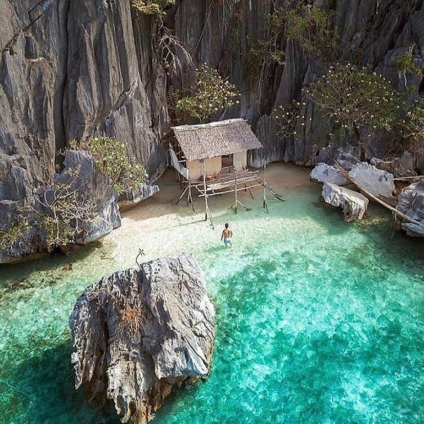 tiny secluded beach home
