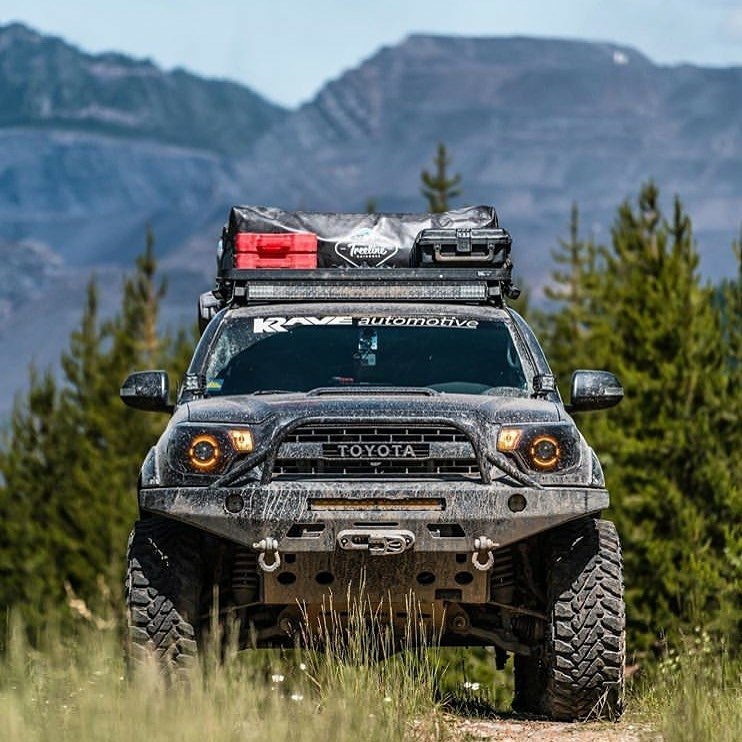 truck in the wilderness