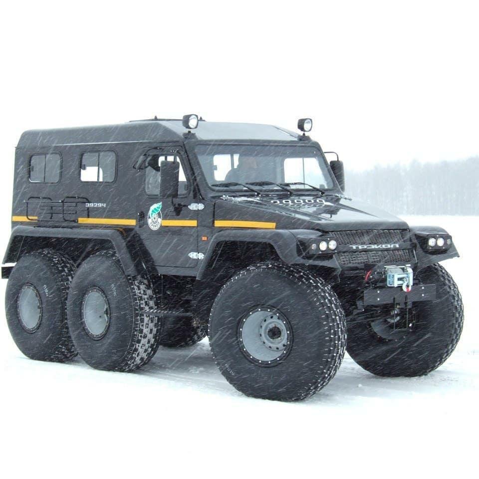6x6 amphibious truck