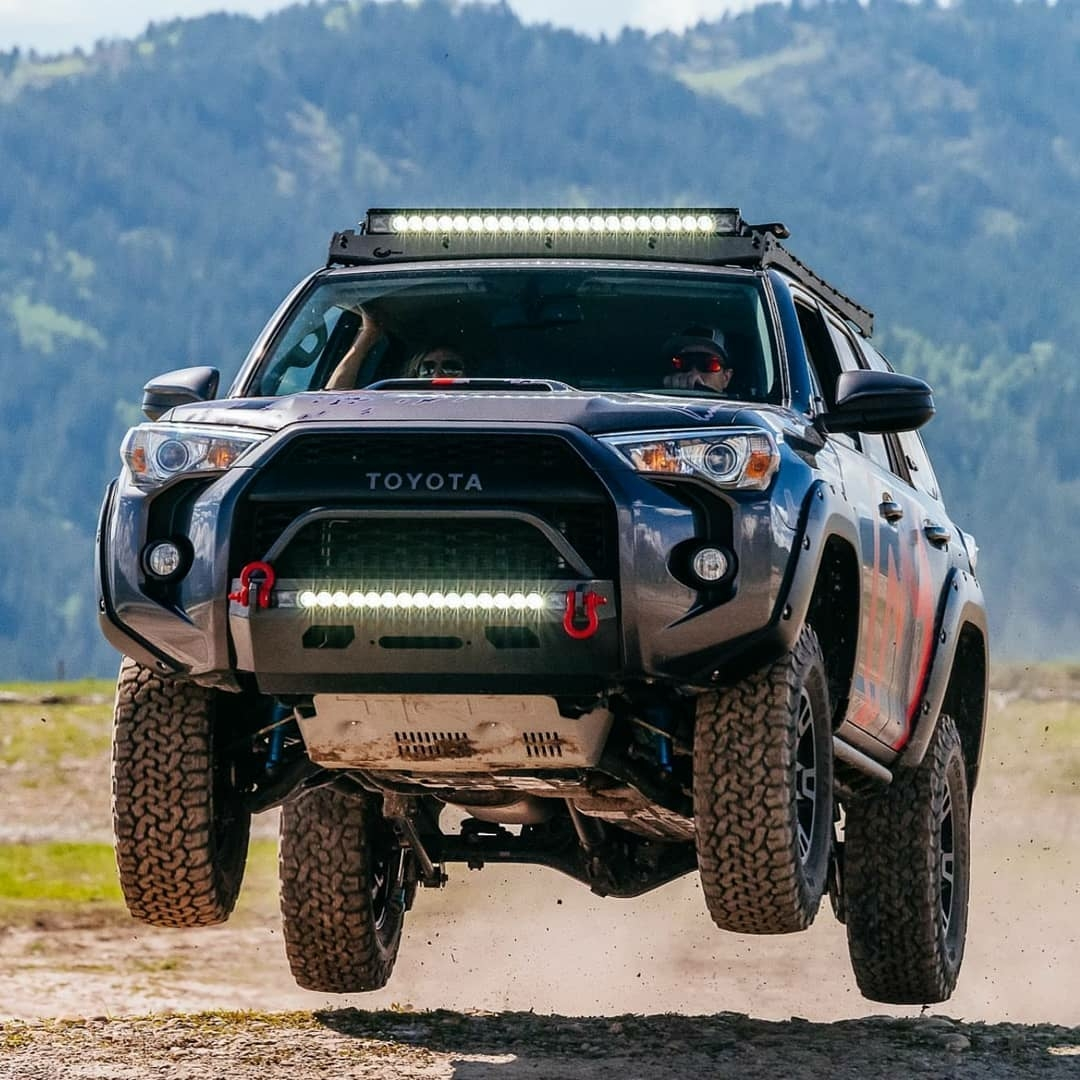 airborne rally truck