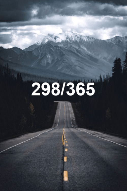 today is day 298 of the year 2019