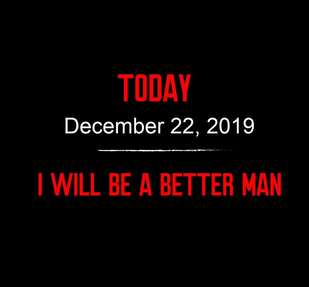 better man 12-22-19